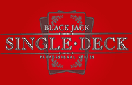 Игра Single Deck Blackjack Professional Series онлайн